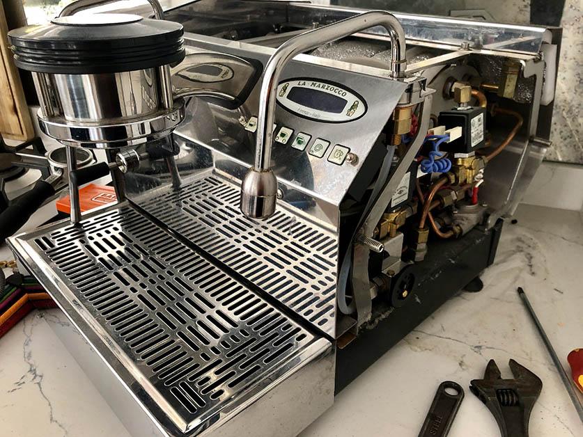 La Marzocco GS3 Coffee Machine Service London Espresso Clinic